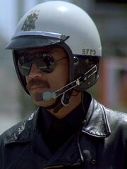 Motorradpolizist 1986