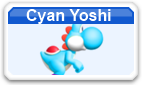 Cyan Yoshi MSMwu