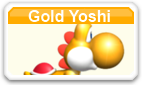 Gold Yoshi MSMWU