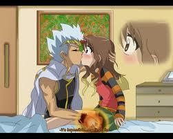 Ryuga kiss a girl jpgBeyblade Nile Love Story