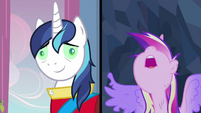 Shining Armor under spell S2E26