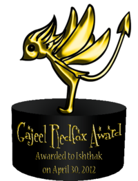 Gajeel Redfox Award 1