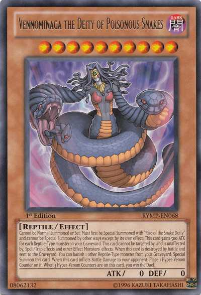 Yu Gi OH Snake Cards