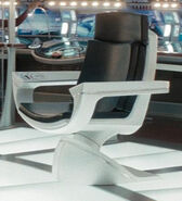 Captains chair, USS Enterprise (alternate reality)