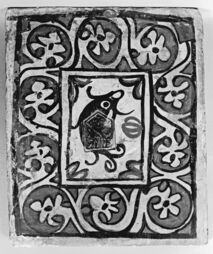 Spanish - Ceiling Tile with Dolphin - Walters 48210611