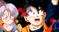 Goten got angry because shenron wish cannot be granted