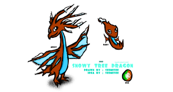 Snowy Tree Dragon