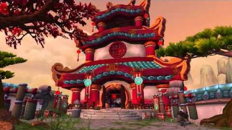 Mists of Pandaria beta - Shang Xi Training Grounds.wmv