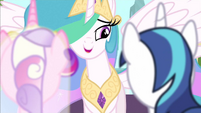 Princess Celestia marrying S2E26