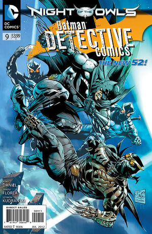 Cover for Detective Comics #9