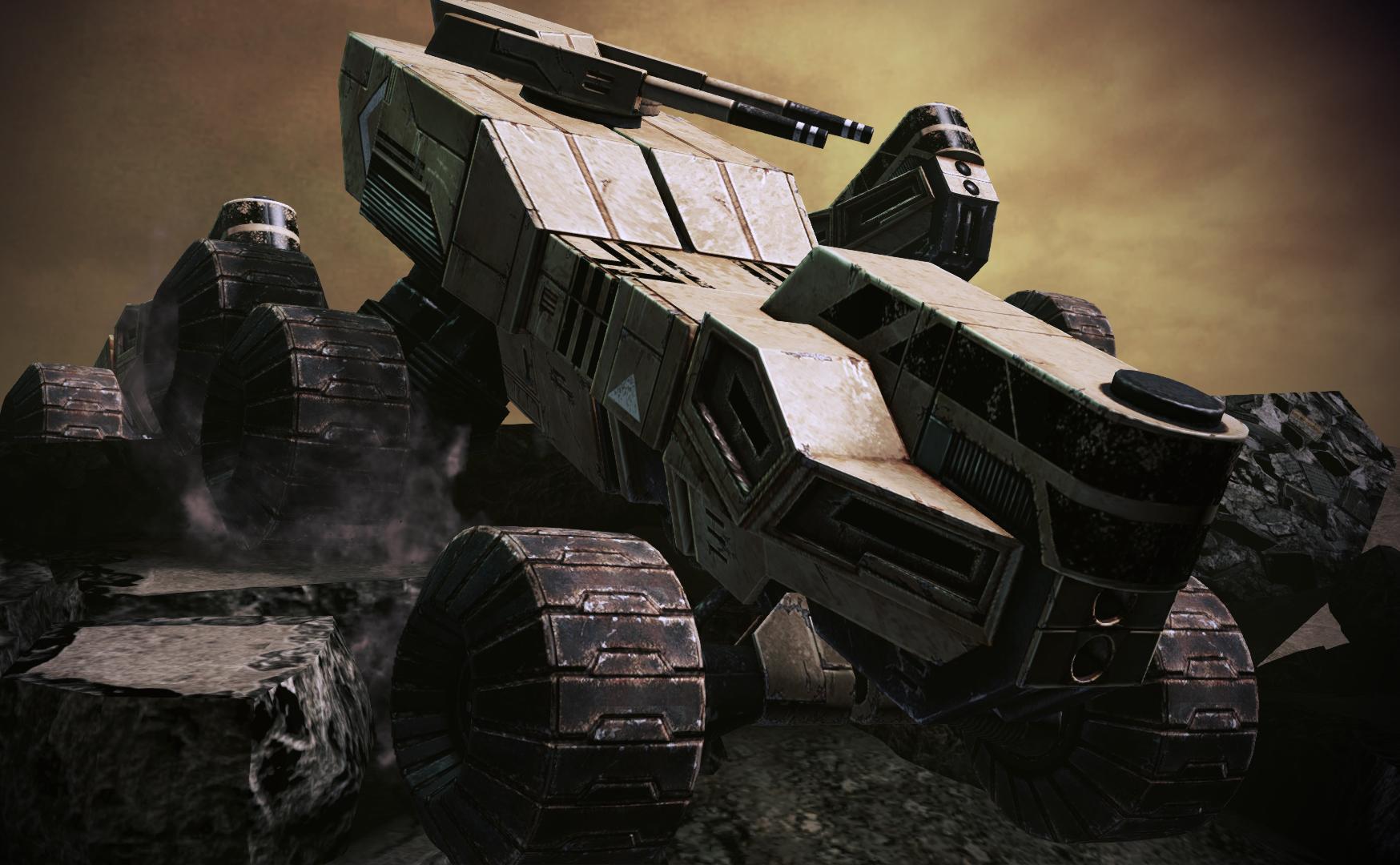 Mass Effect 3 Vehicles: Mako Or Hammerhead? : Masseffect