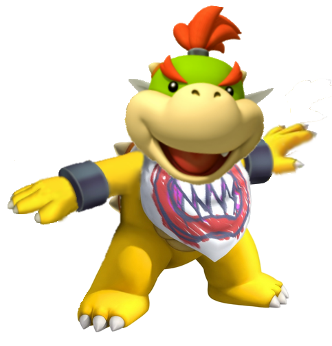 Super Mario Galaxy Bowser Jr