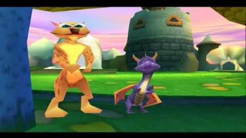HQ SPYRO 3 CUTSCENE 5 (A SECOND WARNING)