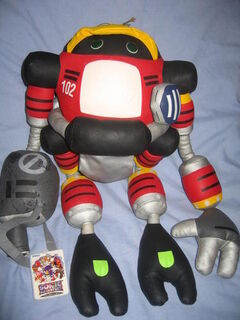 Sonic Adventure E-102 Gamma plush