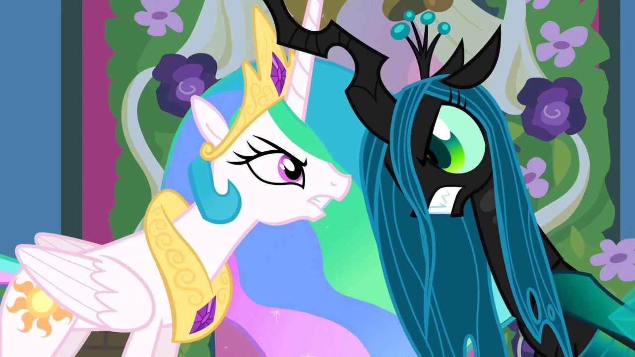 My Little Pony Princess Celestia Queen