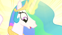 Princess Celestia realize S2E26