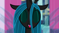 Queen Chrysalis being cute S2E26