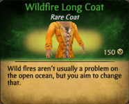 Wildfire Long Coat