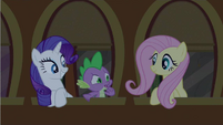 Rarity beaming S2E25