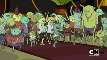 S2e14 goblins cheering