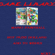 Game libary - mariopaintball