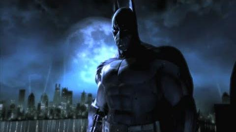 Batman Arkham Asylum Launch Trailer