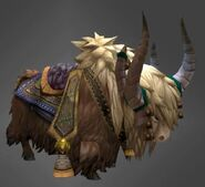 Yak mount brown