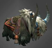Yak mount grey