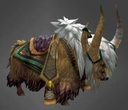 Yak mount yellow