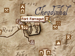Fort Farragut Map