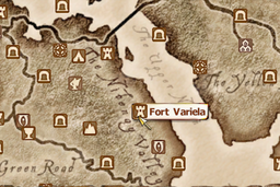 Fort Variela Map