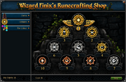Wizard Finix&#39;s Runecrafting Shop (Esteem)