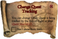 Scroll ChangeQuestTracking