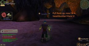 Swashbuckler pvp rank up!