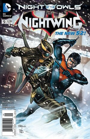 Cover for Nightwing #9