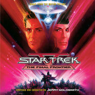 Star Trek V expanded soundtrack Intrada cover