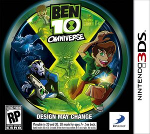 Ben 10 Omniverse box art