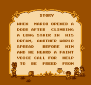 Story Screen Prototype (Super Mario Bros. 2)