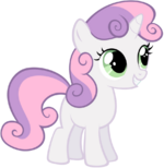 Sweetie belle vector by tigersoul96