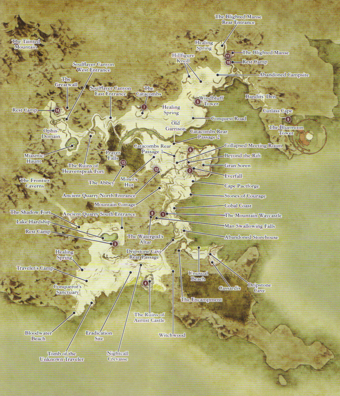 Dragons dogma achievement guide road map xboxachievements refer to this map freerunsca Image collections