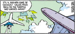 Calvin the Airline Pilot 2
