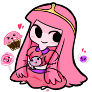 Chibi Princess Bubblegum by StarValerian