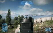 BF3 SG553 Iron Sight