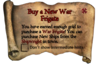 Scroll Buy a New War Frigate