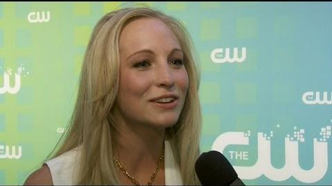 "Candice Accola on ""Vampire Diaries"" Finale"