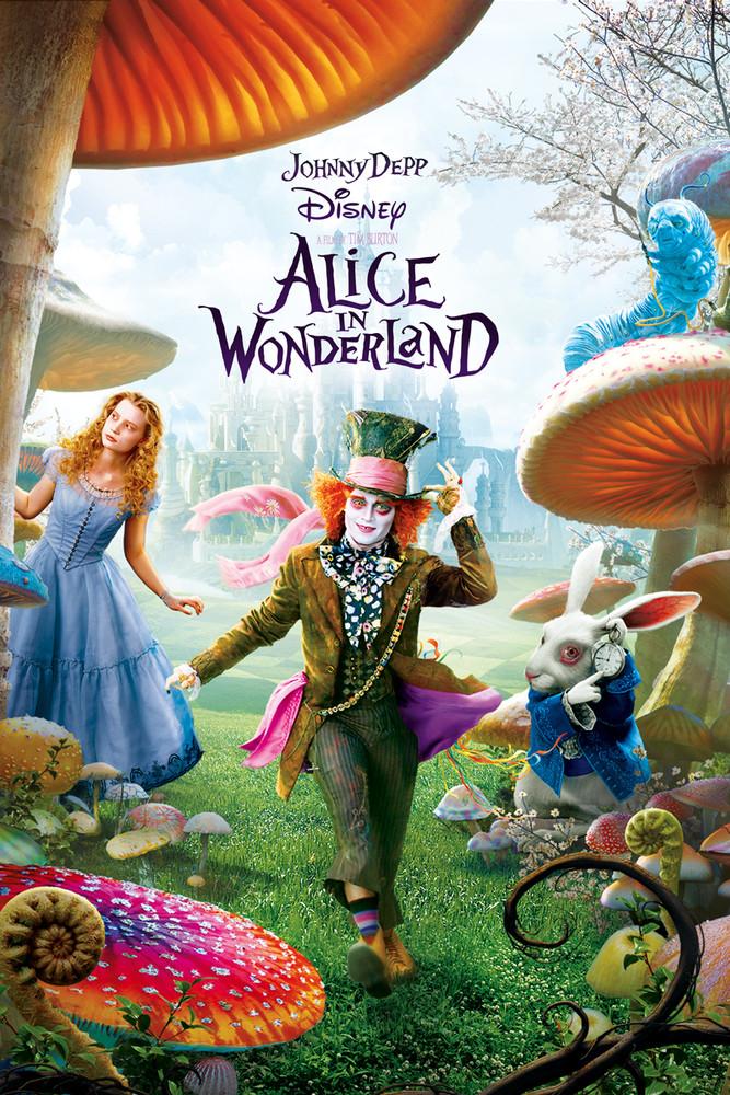 Alice In Wonderland 2010 720p 750MB Download Watch Online