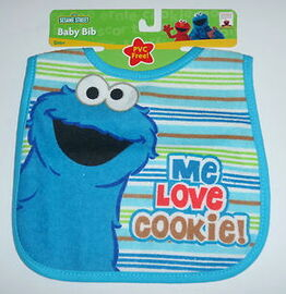 Hamco cookie monster bib