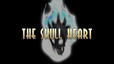 Skull heart