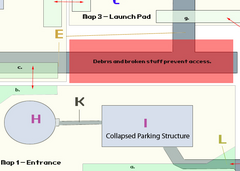 VB DD15 map Bloomfield SS parking structure