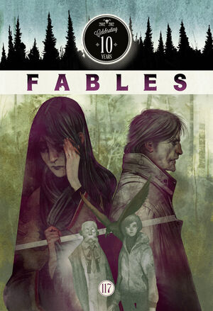 Cover for Fables #117